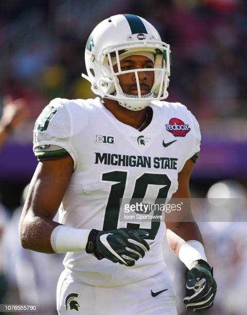 Michigan State Cornerback Josh Butler during the Redbox Bowl between the Michigan State Spartans and the Oregon Ducks at Levi's Stadium on December...