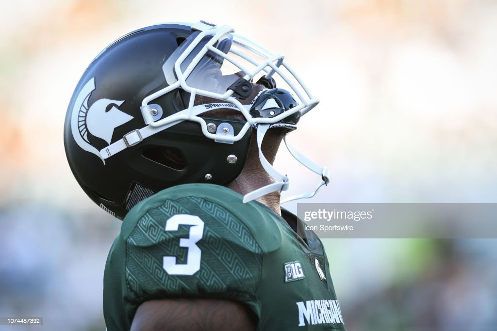 COLLEGE FOOTBALL: AUG 31 Utah State at Michigan State : News Photo