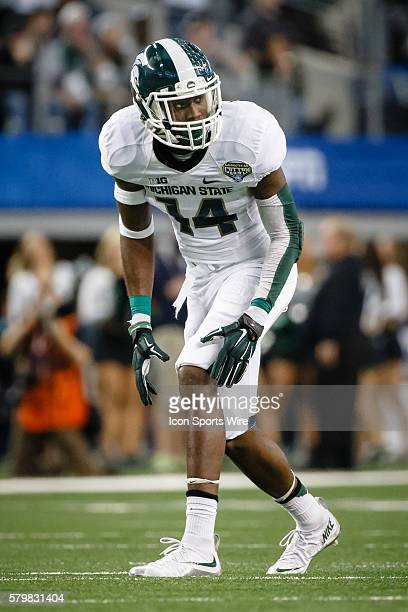 Michigan State Spartans wide receiver Tony Lippett during the Goodyear Cotton Bowl Classic between the Michigan State Spartans and the Baylor Bears...