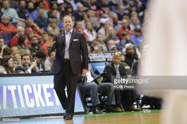 Michigan State University takes on Middle Tennessee State University during the 2016 NCAA Photos via Getty Images Men's Basketball Tournament held at...