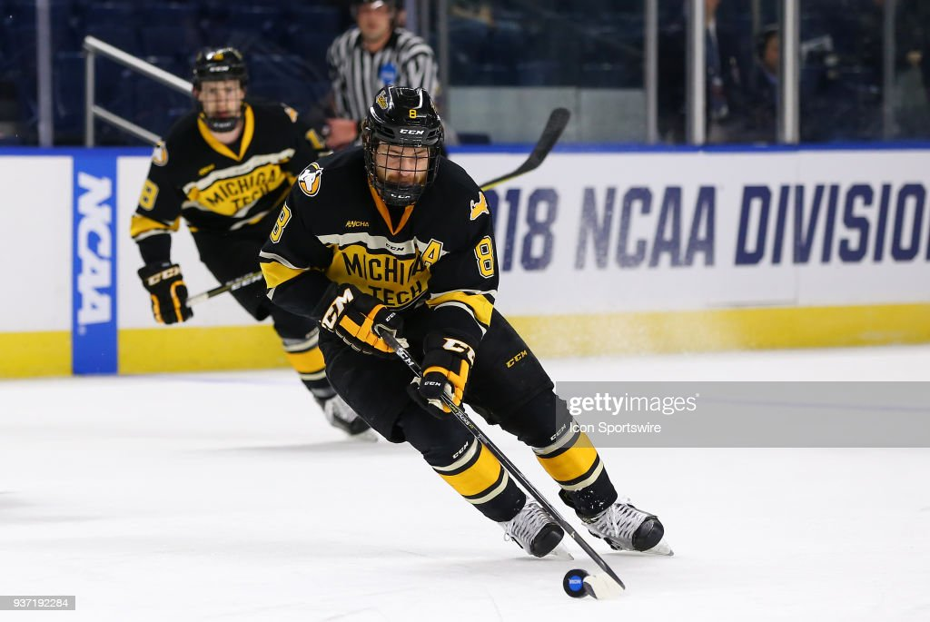 Image result for michigan tech hockey 2018