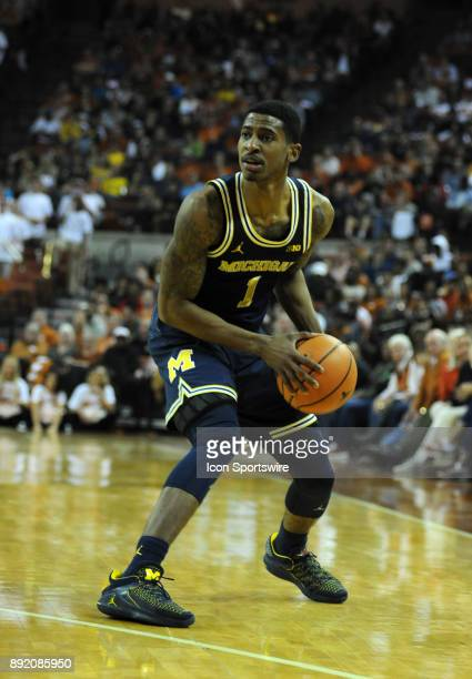 Michigan Wolverine guard Charles Matthews gets set to shoot during 59 52 win over the Texas Longhorns on December 12 2017 at the Frank Erwin Center...