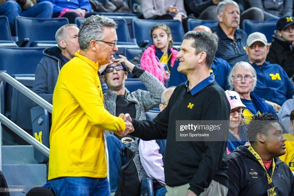 COLLEGE BASKETBALL: FEB 16 Maryland at Michigan : News Photo