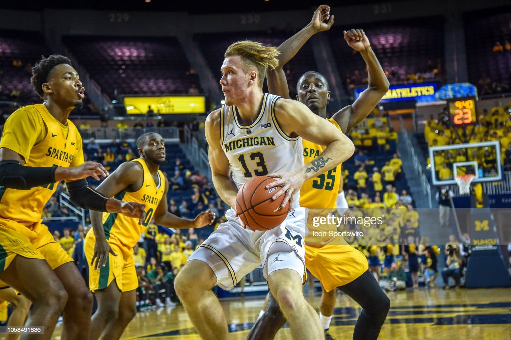 COLLEGE BASKETBALL: NOV 06 Norfolk State at Michigan : News Photo