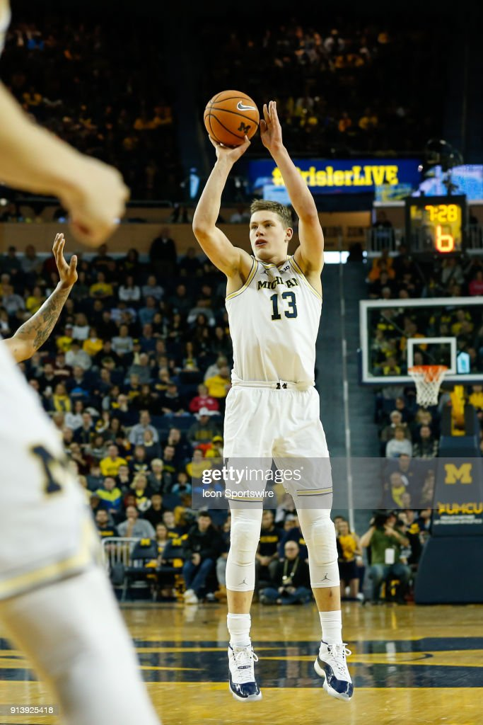 Michigan Wolverines forward Mo...