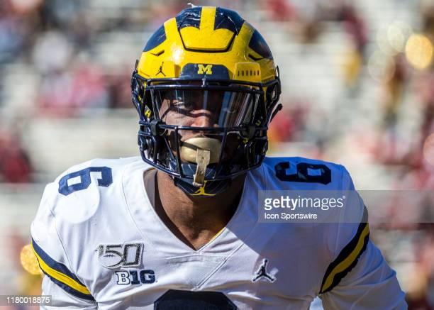 Michigan Wolverines linebacker Josh Uche during a Big10 football game between the University of Maryland and the University of Michigan on November...