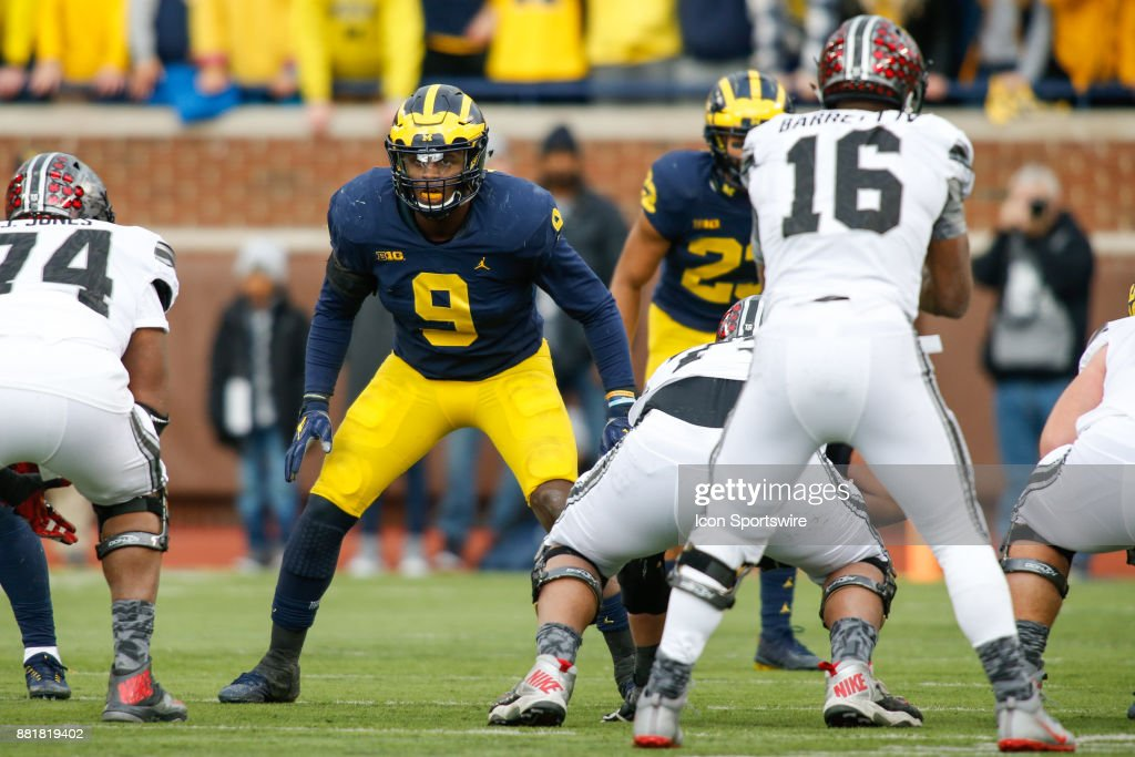 COLLEGE FOOTBALL: NOV 25 Ohio State at Michigan : News Photo