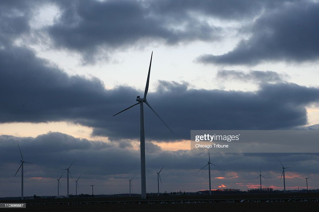 Michigan's first commercial wind farm, with 36 turbines