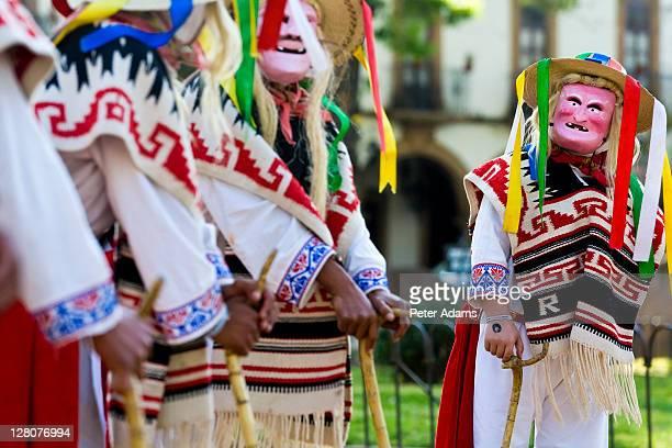 Michoacan dancers, Patzcuaro, Mexico