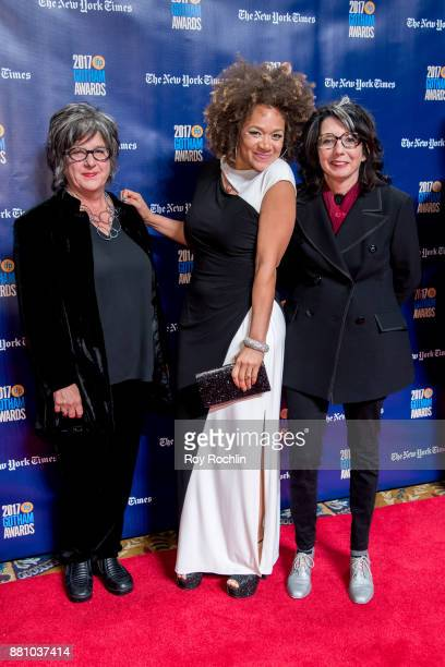 Michole Briana White and Nancy Andrews attend the 2017 IFP Gotham Awards at Cipriani Wall Street on November 27 2017 in New York City