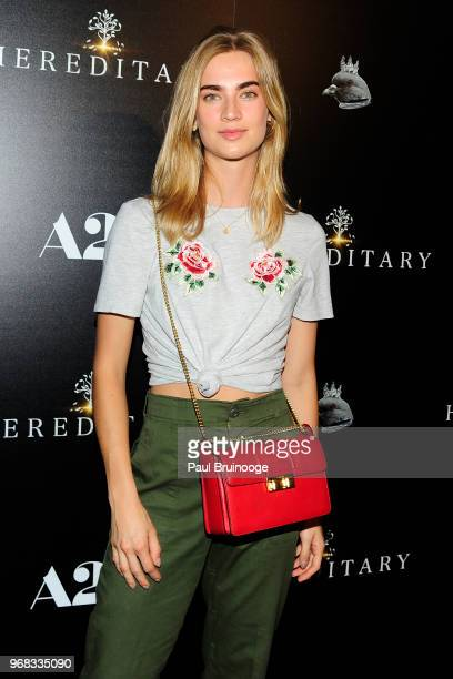 "Michon van As attends A24 Hosts A Screening Of ""Hereditary"" at Metrograph on June 5, 2018 in New York City."