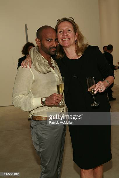 Michou and Elinore Carmody attend LOUIS XIII Celebrates WALLPAPER'S Guest Editor LOUISE BOURGEOISE with HELMUT LANG at Cheim Reid and Glasshouses on...