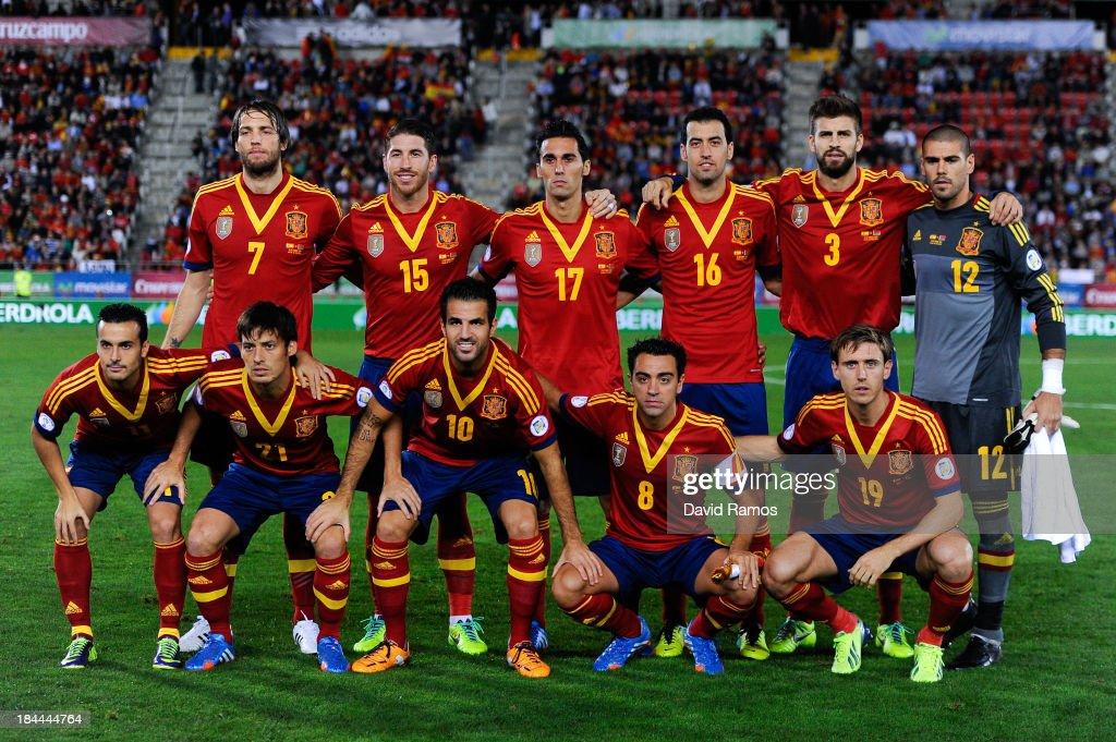 Spain v Belarus - FIFA 2014 World Cup Qualifier : News Photo