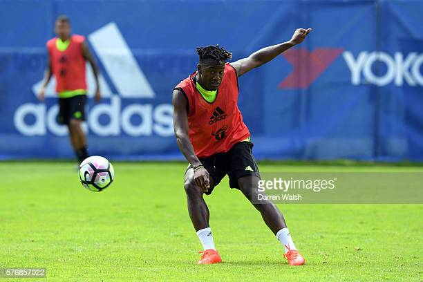 Michy Batshuayi during a Chelsea training session at Waldarena on July 18 2016 in Velden Austria