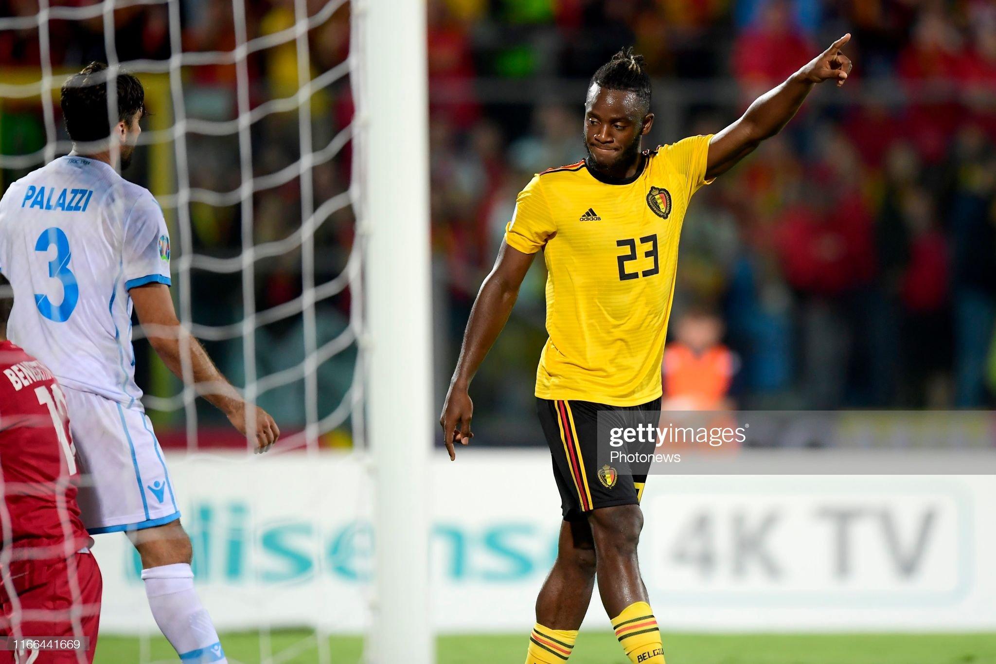 San Marino v Belgium - EURO 2020 Qualifier : News Photo
