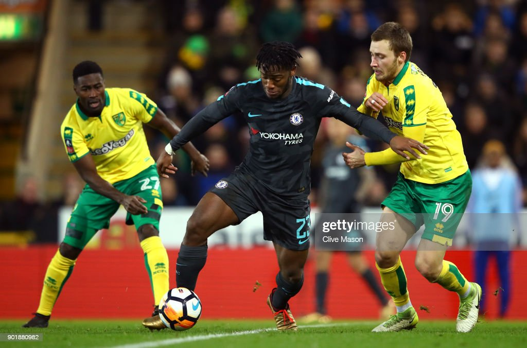Norwich City v Chelsea - The Emirates FA Cup Third Round : Nachrichtenfoto