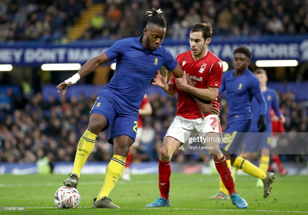 Chelsea FC v Nottingham Forest - FA Cup Third Round : News Photo