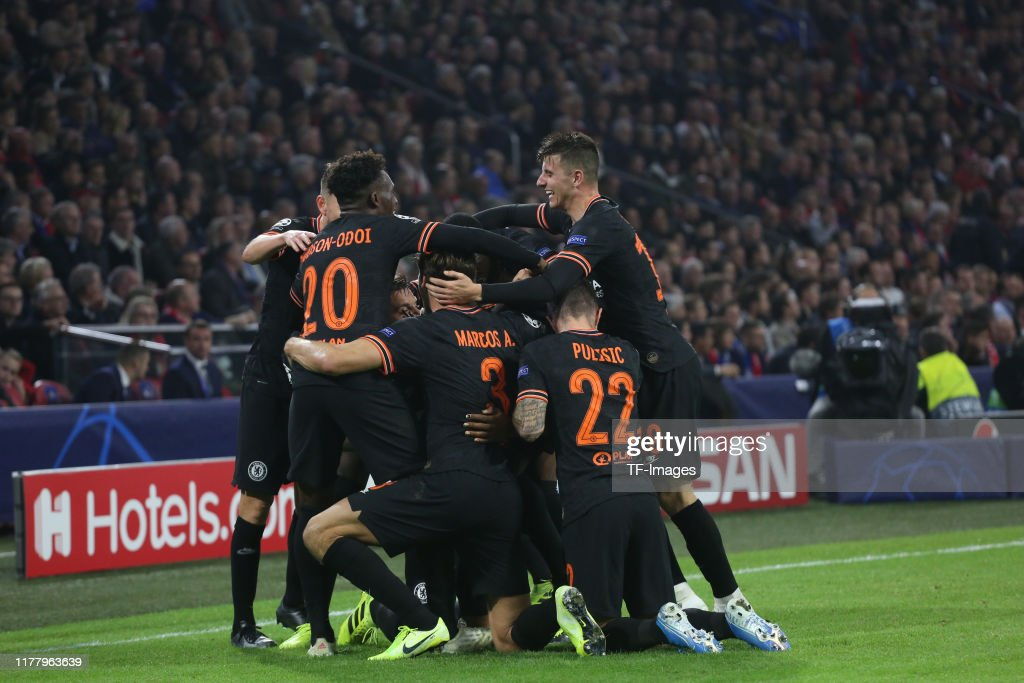AFC Ajax v Chelsea FC: Group H - UEFA Champions League : News Photo