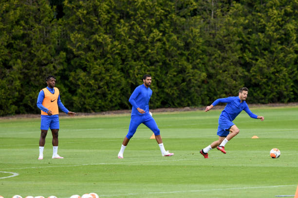 GBR: Chelsea Training Session