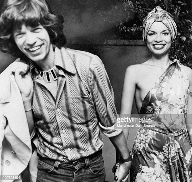 Mick and Bianca Jagger Mick and Bianca Jagger
