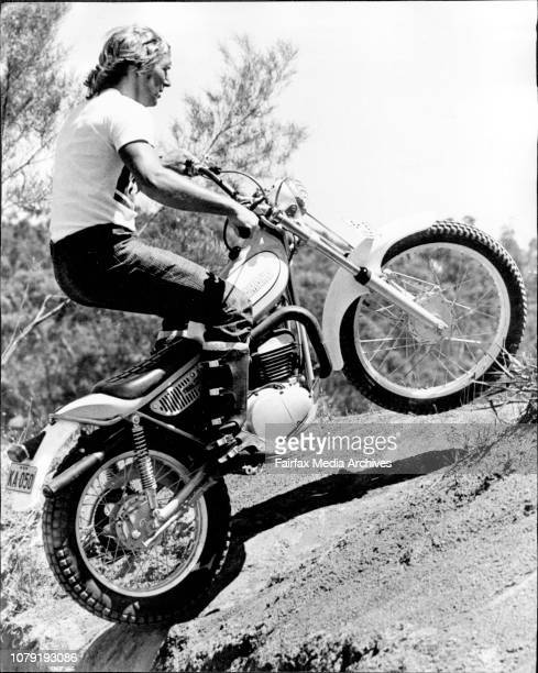 Mick Andrews English World Champion Motor cycle trialsRider and winner of the Scottish six day trials The International six day trials and the 1971...