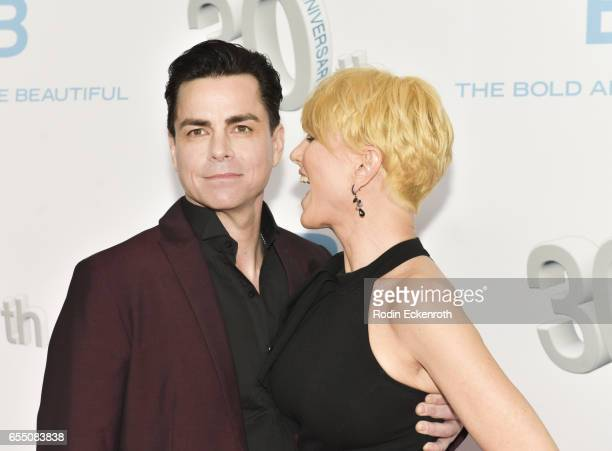 """Mick Cain attends CBS's """"The Bold and The Beautiful"""" 30th Anniversary Party at Clifton's Cafeteria on March 18, 2017 in Los Angeles, California."""
