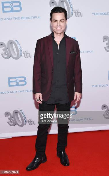 Mick Cain attends the CBS's 'The Bold And The Beautiful' 30th Anniversary Party at Clifton's Cafeteria on March 18, 2017 in Los Angeles, California.