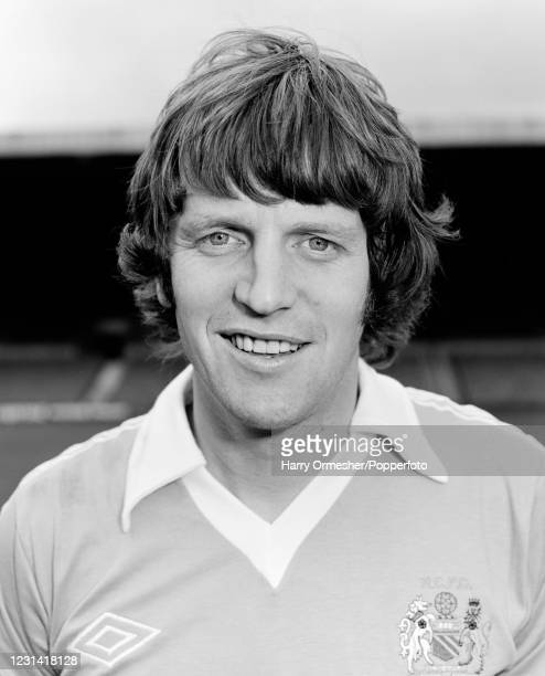 Mick Channon of Manchester City at Maine Road in Manchester, England, circa August 1978.