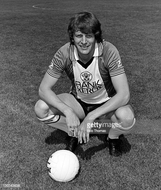 Mick Channon of Southampton, at the Dell, August 1981.