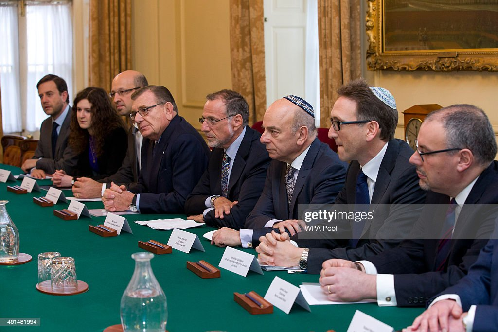 Prime Minister David Cameron Meets With The Jewish Leadership Council