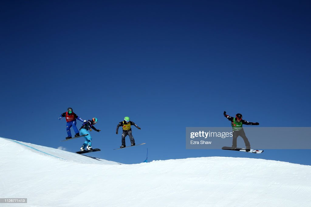 UT: FIS Snowboard World Championships - Men's and Ladies' Snowboard Cross