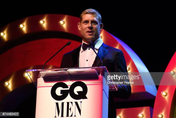 Mick Fanning presents the award for Solo Artist of the Year during the GQ Men Of The Year Awards Ceremony at The Star on November 15 2017 in Sydney...