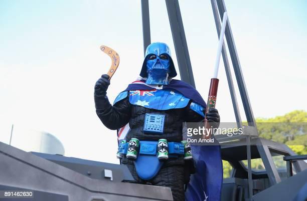 Mick Fett attends Star Wars The Last Jedi Sydney Screening Event on December 13 2017 in Sydney Australia