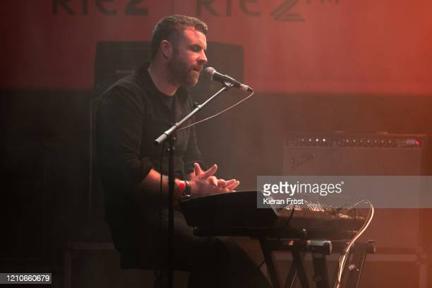 Mick Flannery performs at the RTE Choice Music Prize at Vicar Street on March 05, 2020 in Dublin, Dublin.