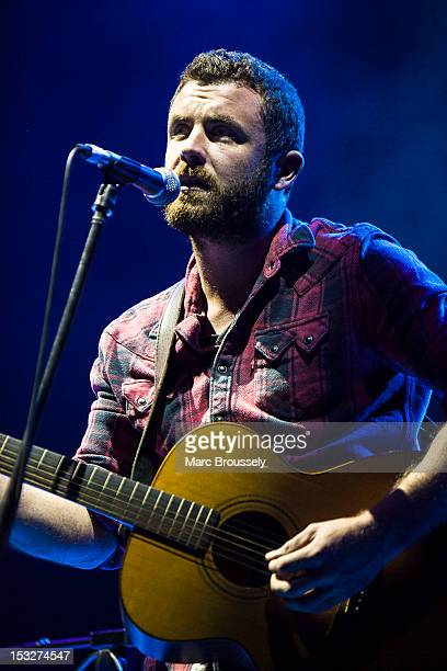 Mick Flannery performs on stage at Hammersmith Apollo on October 2, 2012 in London, United Kingdom.