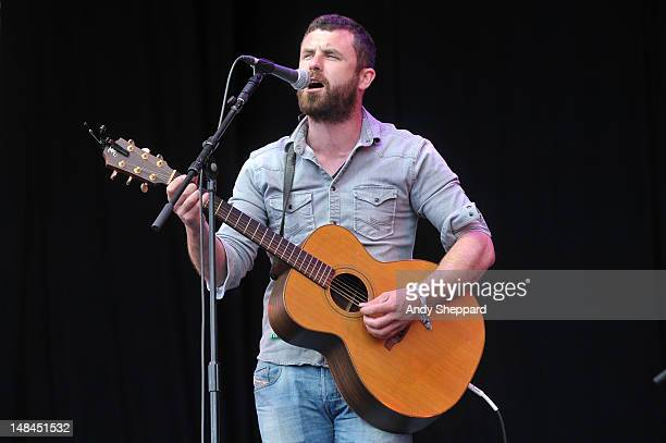Mick Flannery performs on stage during Latitude Festival 2012 at Henham Park Estate on July 14, 2012 in Southwold, United Kingdom.