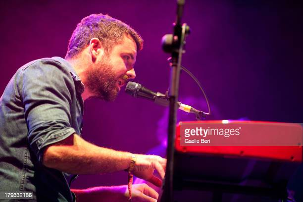 Mick Flannery performs on stage on Day 3 of Electric Picnic Festival 2013 at Stradbally Hall Estate on September 1, 2013 in Dublin, Ireland.