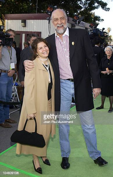 Mick Fleetwood and wife during Earth To LA II to Benefit Natural Resources Defense Council at Wadsworth Theatre in Brentwood California United States