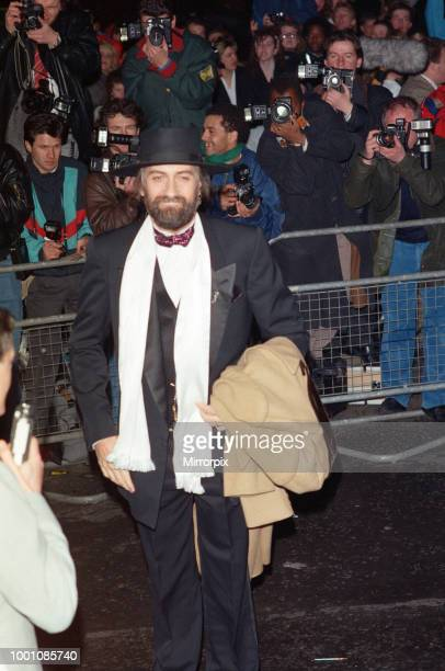 Mick Fleetwood arriving at The Brit Music Awards at Royal Albert Hall London Mick Fleetwood is the host of the awards with Samantha Fox 13th February...
