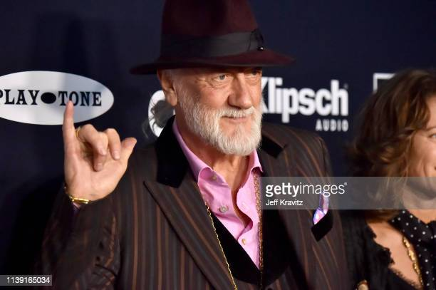 Mick Fleetwood attends the 2019 Rock & Roll Hall Of Fame Induction Ceremony at Barclays Center on March 29, 2019 in New York City.