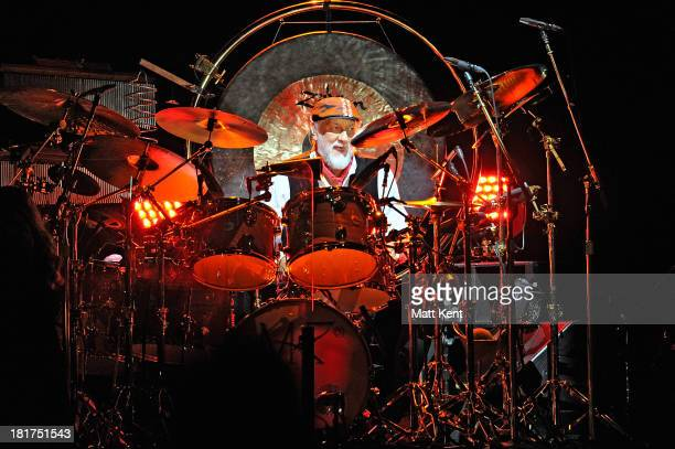 Mick Fleetwood of Fleetwood Mac performs at 02 Arena on September 24 2013 in London England