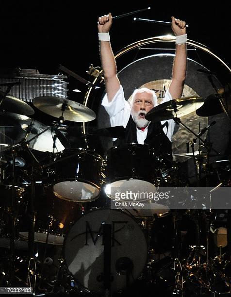 Mick Fleetwood of Fleetwood Mac performs at Philips Arena on June 10 2013 in Atlanta Georgia