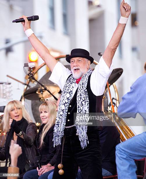 Mick Fleetwood of Fleetwood Mac performs on NBC's 'Today' at the NBC's TODAY Show on October 9 2014 in New York New York