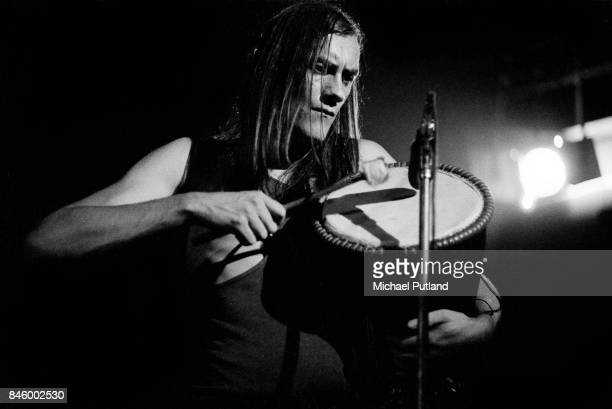 Mick Fleetwood of Fleetwood Mac performs on stage 5th June 1973