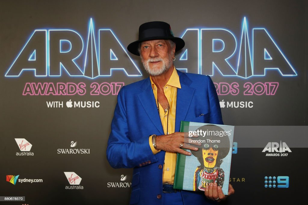 Mick Fleetwood poses in awards room during the 31st Annual ARIA Awards 2017 at The Star on November 28, 2017 in Sydney, Australia.