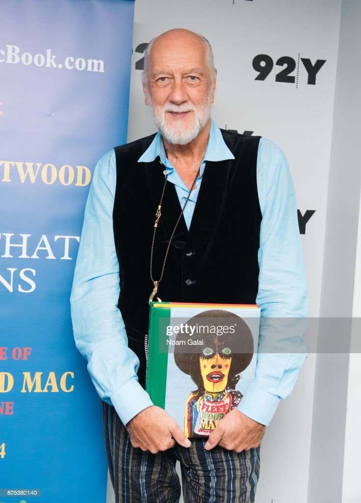 Mick Fleetwood visits 92nd Street Y on August 1, 2017 in New York City.