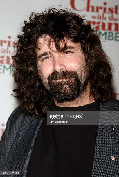 Mick Foley during Christmas with The Kranks New York City Premiere Outside Arrivals at Radio City Music Hall in New York City New York United States