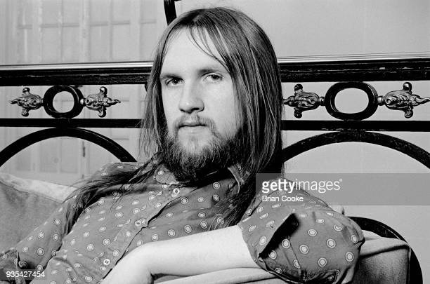 Mick Grabham of Procol Harum photographed at The Theatre Royal in London's Covent Garden on 6th May 1972