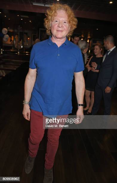 Mick Hucknall attends Sticky Fingers' 28th Birthday hosted by Bill Wyman on July 6 2017 in London England
