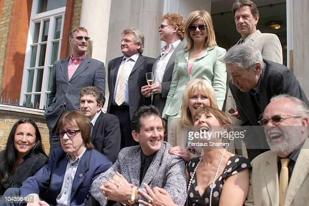 Mick Hucknall Bill Wyman Anita Harris and guests